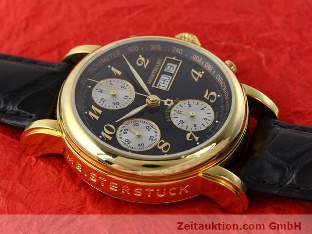 Used luxury watch Montblanc Meisterstück gold-plated automatic Kal. 4810501 (ETA 7750) Ref. 7001  | 141068 13