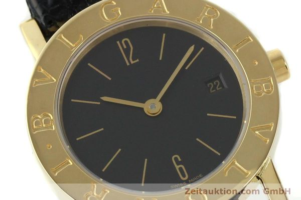 Used luxury watch Bvlgari * 18 ct gold quartz Kal. 712 MBBE Ref. BB26GL  | 141070 02