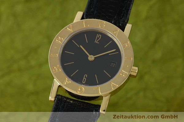 Used luxury watch Bvlgari * 18 ct gold quartz Kal. 712 MBBE Ref. BB26GL  | 141070 04