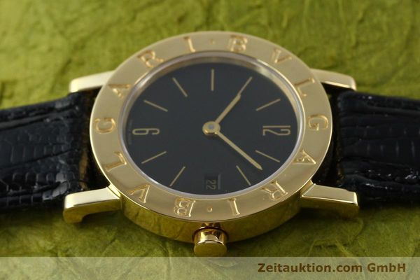 Used luxury watch Bvlgari * 18 ct gold quartz Kal. 712 MBBE Ref. BB26GL  | 141070 05