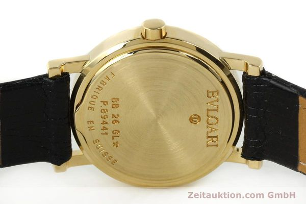 Used luxury watch Bvlgari * 18 ct gold quartz Kal. 712 MBBE Ref. BB26GL  | 141070 09