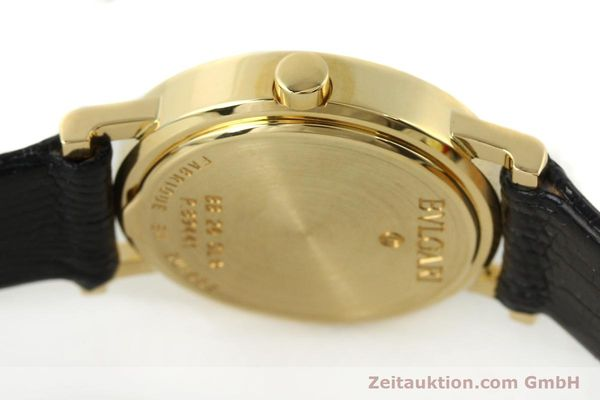 Used luxury watch Bvlgari * 18 ct gold quartz Kal. 712 MBBE Ref. BB26GL  | 141070 11
