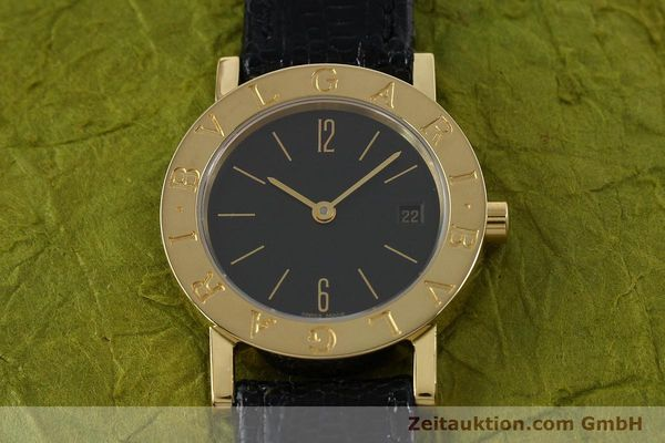 Used luxury watch Bvlgari * 18 ct gold quartz Kal. 712 MBBE Ref. BB26GL  | 141070 15