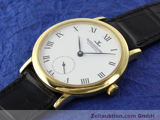 Used luxury watch Jaeger Le Coultre * 18 ct gold automatic Kal. 891 Ref. 0663  | 141077 01