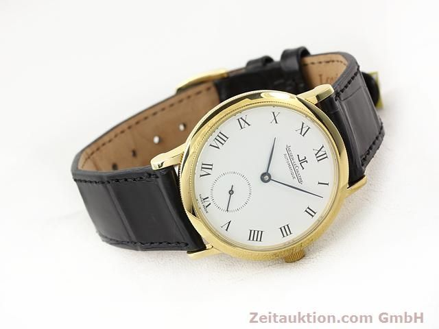 Used luxury watch Jaeger Le Coultre * 18 ct gold automatic Kal. 891 Ref. 0663  | 141077 03