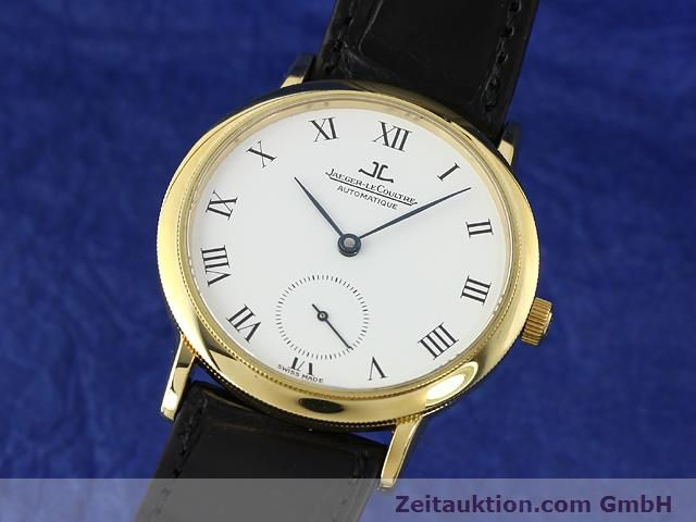 Used luxury watch Jaeger Le Coultre * 18 ct gold automatic Kal. 891 Ref. 0663  | 141077 04