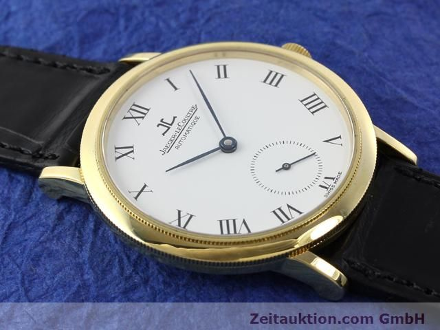 Used luxury watch Jaeger Le Coultre * 18 ct gold automatic Kal. 891 Ref. 0663  | 141077 16