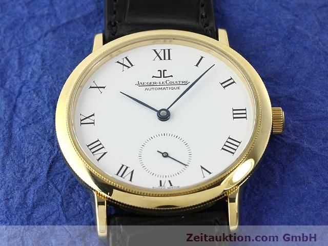 Used luxury watch Jaeger Le Coultre * 18 ct gold automatic Kal. 891 Ref. 0663  | 141077 17