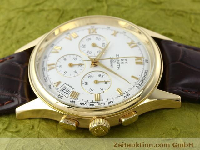 Used luxury watch Zenith Prime chronograph 18 ct gold manual winding Kal. 420 Ref. 06-0010.420  | 141078 05