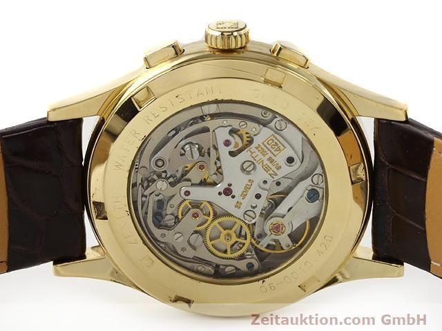 Used luxury watch Zenith Prime chronograph 18 ct gold manual winding Kal. 420 Ref. 06-0010.420  | 141078 09