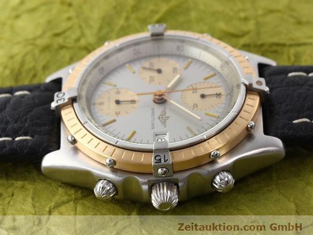 Used luxury watch Breitling Chronomat steel / gold automatic Kal. Valjoux 7750 Ref. 81950  | 141079 05