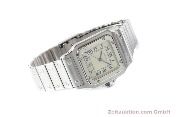 Used luxury watch Cartier Santos steel quartz  | 141081 03