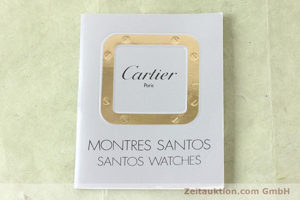 Used luxury watch Cartier Santos steel quartz  | 141081 08