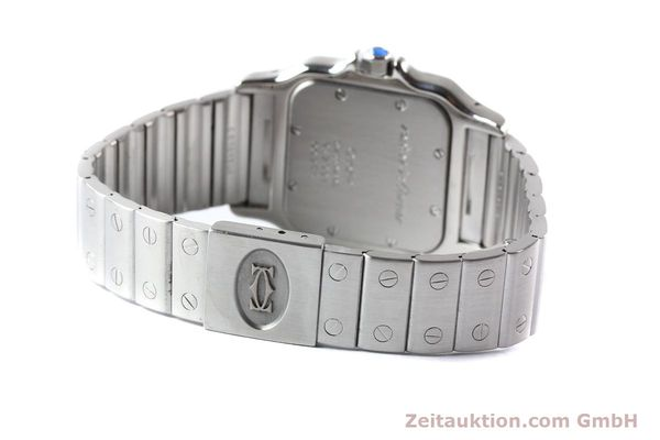 Used luxury watch Cartier Santos steel quartz  | 141081 10
