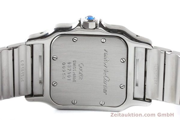 Used luxury watch Cartier Santos steel quartz  | 141081 11