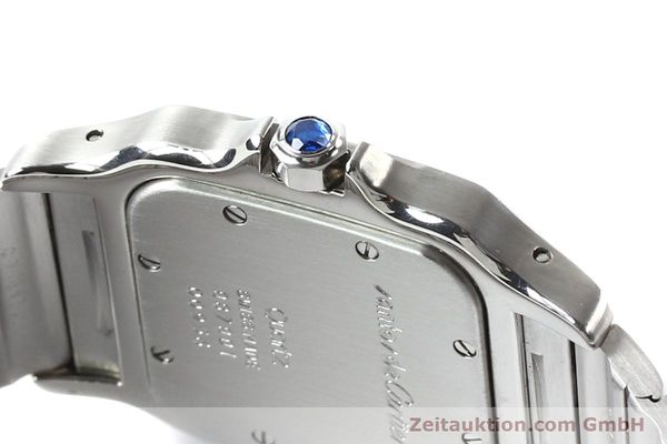 Used luxury watch Cartier Santos steel quartz  | 141081 12