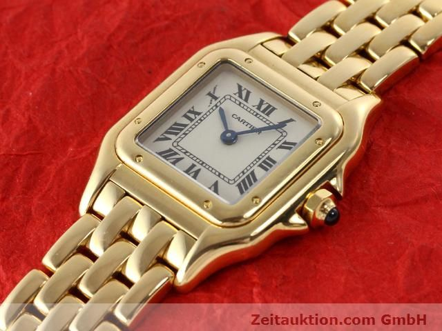 Used luxury watch Cartier Panthere 18 ct gold quartz Kal. 157.06  | 141083 01