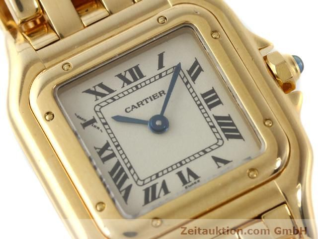 Used luxury watch Cartier Panthere 18 ct gold quartz Kal. 157.06  | 141083 02