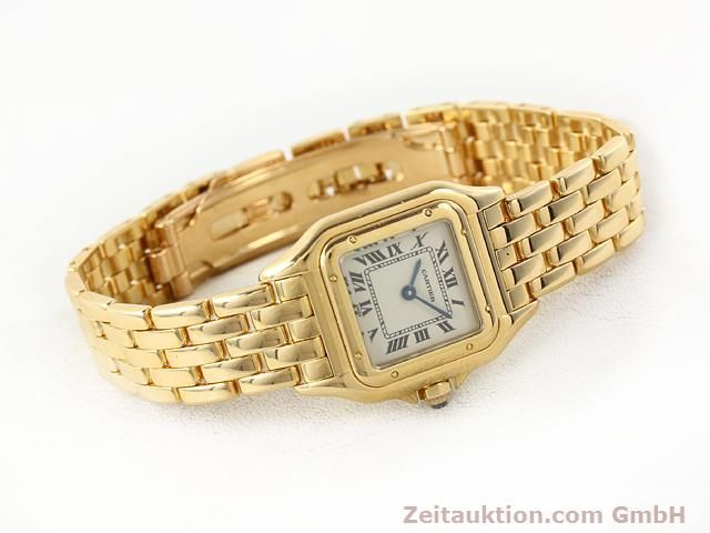 Used luxury watch Cartier Panthere 18 ct gold quartz Kal. 157.06  | 141083 03