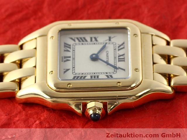 Used luxury watch Cartier Panthere 18 ct gold quartz Kal. 157.06  | 141083 05