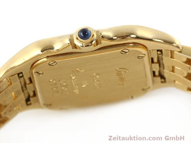 Used luxury watch Cartier Panthere 18 ct gold quartz Kal. 157.06  | 141083 08