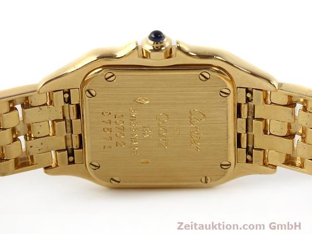 Used luxury watch Cartier Panthere 18 ct gold quartz Kal. 157.06  | 141083 09