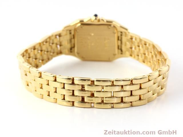 Used luxury watch Cartier Panthere 18 ct gold quartz Kal. 157.06  | 141083 10