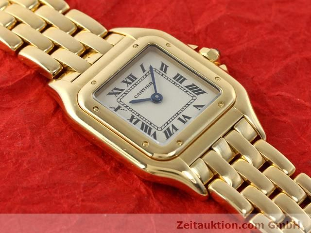 Used luxury watch Cartier Panthere 18 ct gold quartz Kal. 157.06  | 141083 13