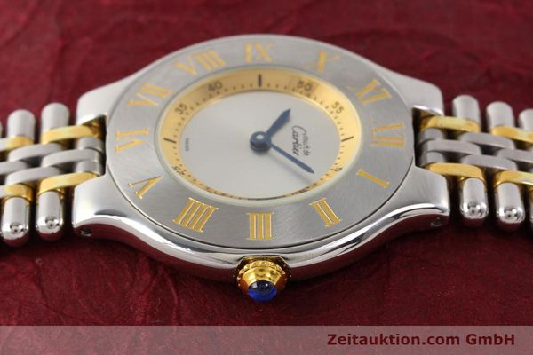 Used luxury watch Cartier Ligne 21 gilt steel quartz Kal. 690  | 141084 05