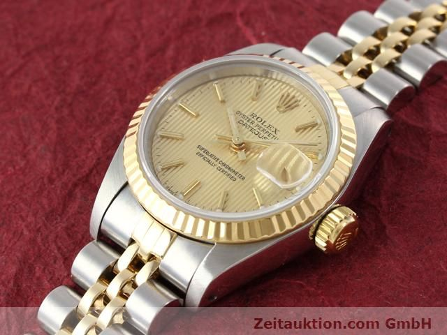 Used luxury watch Rolex Lady Datejust steel / gold automatic Kal. 2135 Ref. 69173  | 141085 01