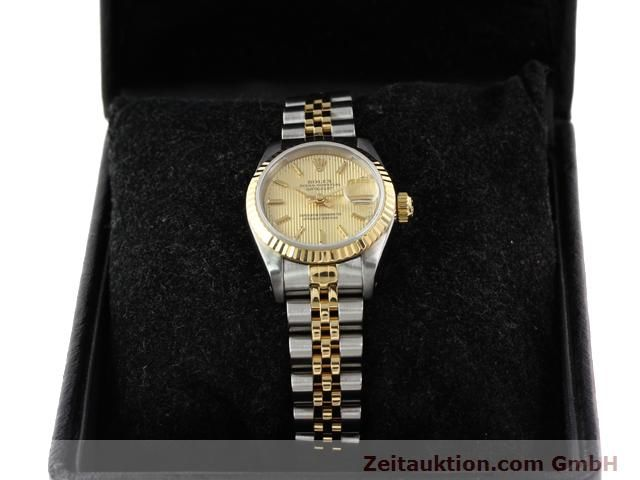 Used luxury watch Rolex Lady Datejust steel / gold automatic Kal. 2135 Ref. 69173  | 141085 07