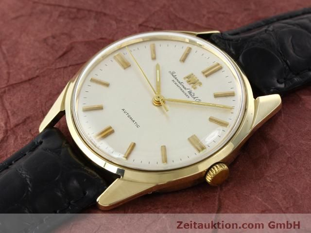 Used luxury watch IWC * 14 ct yellow gold automatic Kal. C.854 Ref. 910A  | 141087 01
