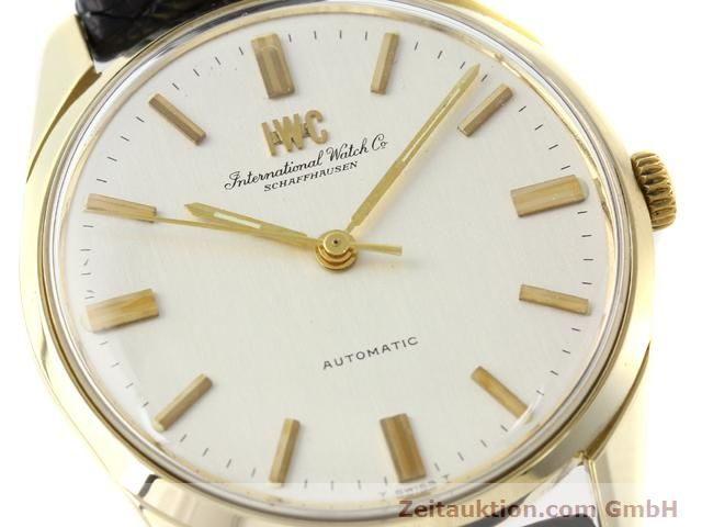 Used luxury watch IWC * 14 ct yellow gold automatic Kal. C.854 Ref. 910A  | 141087 02