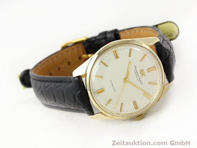 montre de luxe d occasion IWC * or jaunen 14 ct automatique Kal. C.854 Ref. 910A  | 141087 03