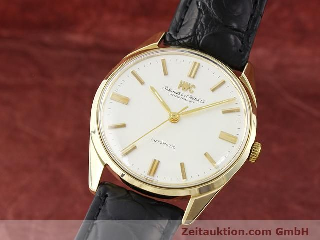 montre de luxe d occasion IWC * or jaunen 14 ct automatique Kal. C.854 Ref. 910A  | 141087 04