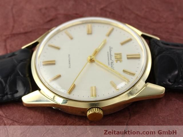 Used luxury watch IWC * 14 ct yellow gold automatic Kal. C.854 Ref. 910A  | 141087 05