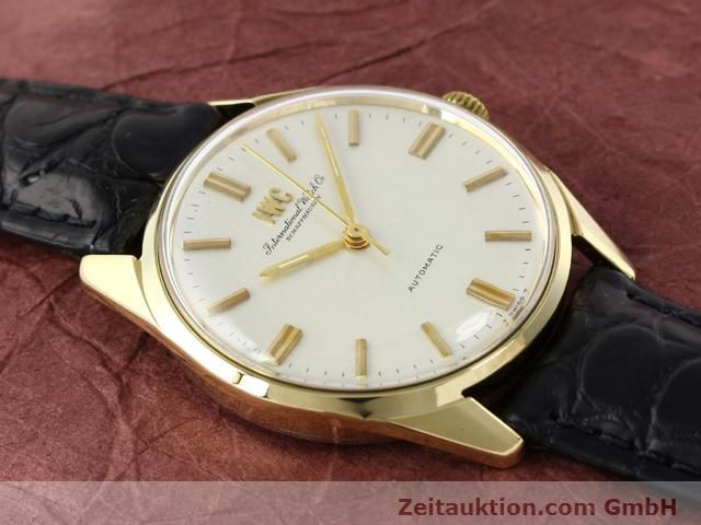 Used luxury watch IWC * 14 ct yellow gold automatic Kal. C.854 Ref. 910A  | 141087 13