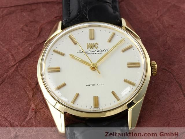 montre de luxe d occasion IWC * or jaunen 14 ct automatique Kal. C.854 Ref. 910A  | 141087 14