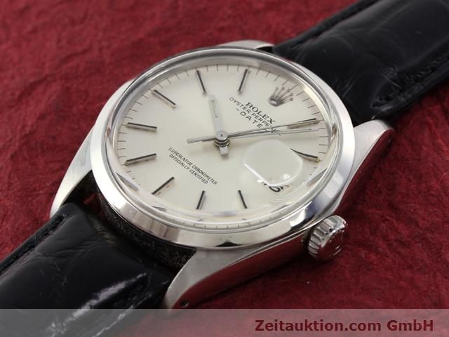 Used luxury watch Rolex Date steel automatic Kal. 1570 Ref. 1500  | 141089 01