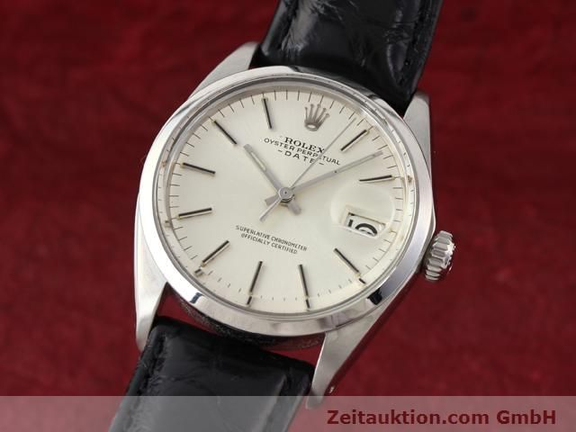 Used luxury watch Rolex Date steel automatic Kal. 1570 Ref. 1500  | 141089 04
