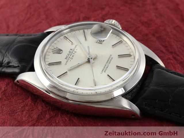 Used luxury watch Rolex Date steel automatic Kal. 1570 Ref. 1500  | 141089 12