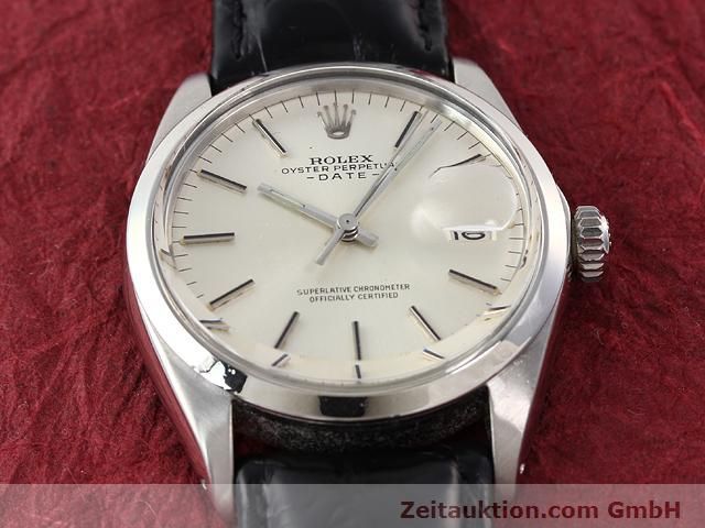 Used luxury watch Rolex Date steel automatic Kal. 1570 Ref. 1500  | 141089 13