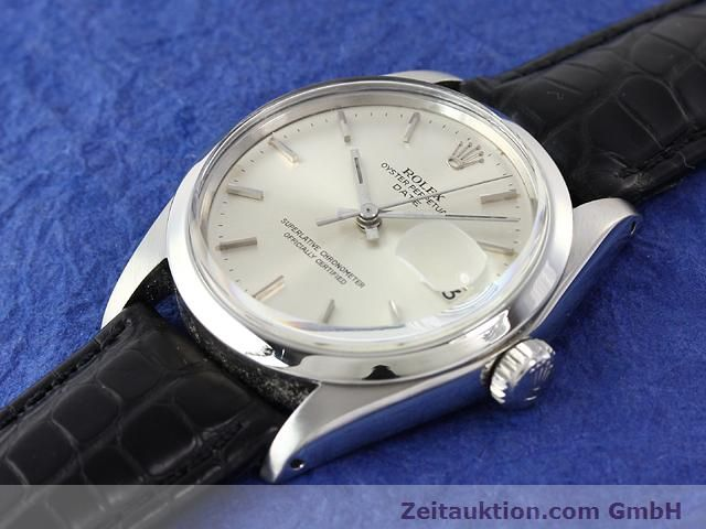 Used luxury watch Rolex Date steel automatic Kal. 1570 Ref. 1500  | 141091 01