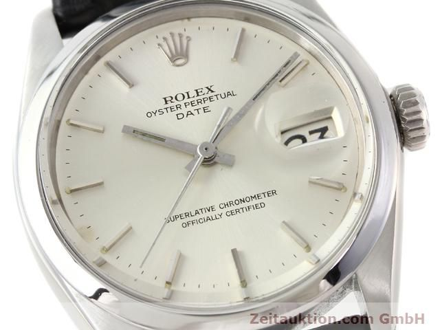 Used luxury watch Rolex Date steel automatic Kal. 1570 Ref. 1500  | 141091 02