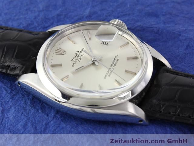 Used luxury watch Rolex Date steel automatic Kal. 1570 Ref. 1500  | 141091 12