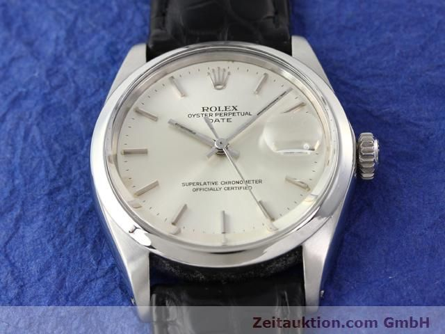 Used luxury watch Rolex Date steel automatic Kal. 1570 Ref. 1500  | 141091 13