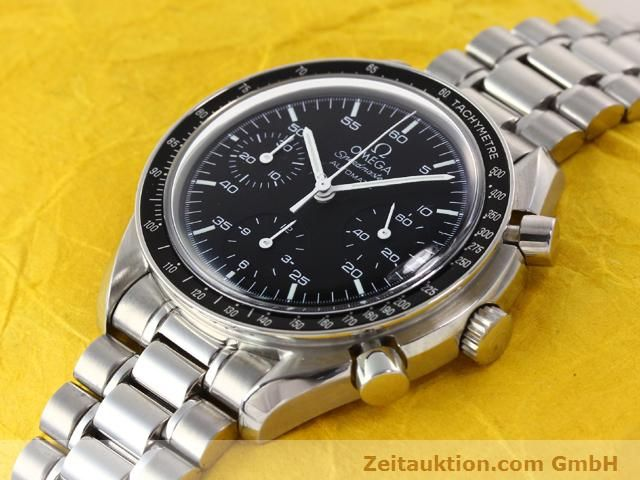 Used luxury watch Omega Speedmaster steel automatic Kal. 3220 Ref. 1750032  | 141098 01