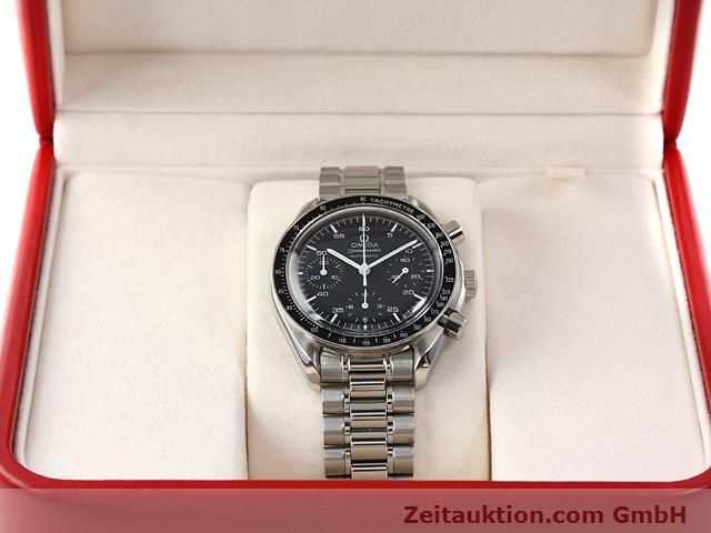 Used luxury watch Omega Speedmaster steel automatic Kal. 3220 Ref. 1750032  | 141098 07