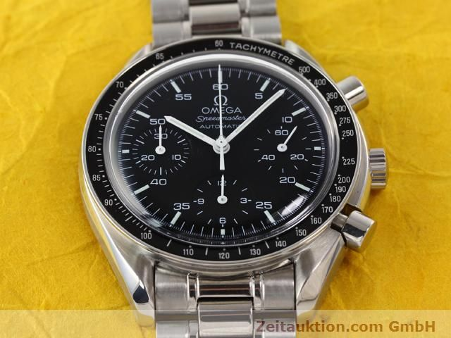 Used luxury watch Omega Speedmaster steel automatic Kal. 3220 Ref. 1750032  | 141098 16