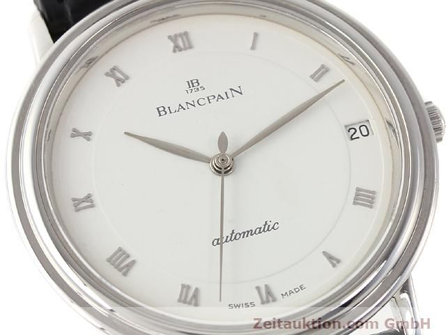 Used luxury watch Blancpain Villeret steel automatic Kal. 95  | 141099 02